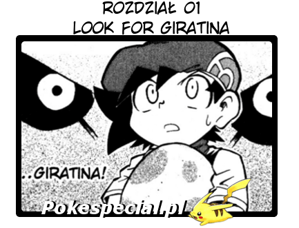 Look for giratina