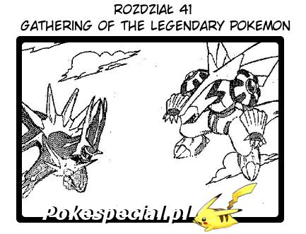 Gathering of the legendary pokemon